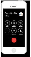 iphone calling goodshuffle